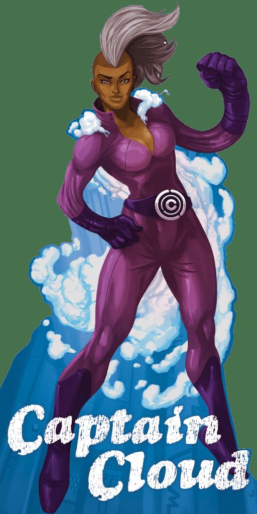 Captain Cloud - Cutout